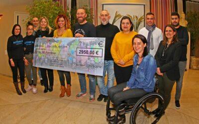 4950 euros de dons récoltés à l'attention de l'association «Autisme 66 Esperanza»